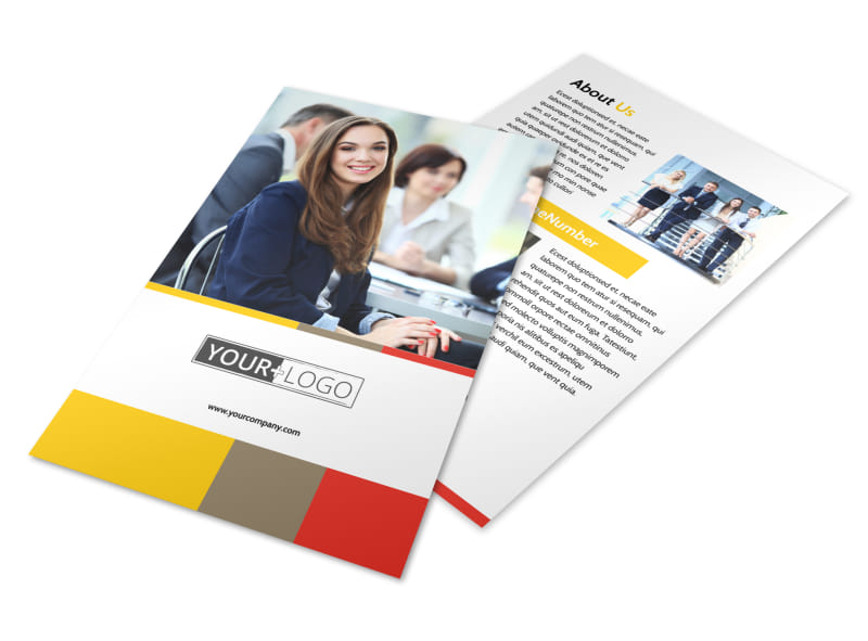 Executive Business Consulting Flyer Template Preview 4