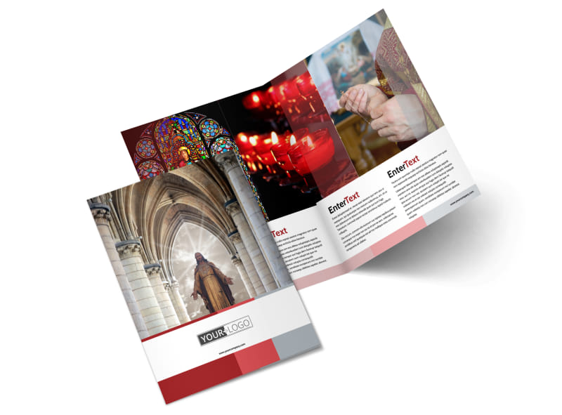 Catholic Church Brochure Template Mycreativeshop