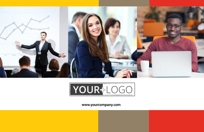 Executive Business Consulting Postcard Template Preview 2