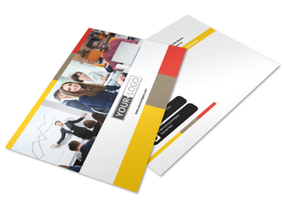 Business Coach & Executive Coach Postcard Template