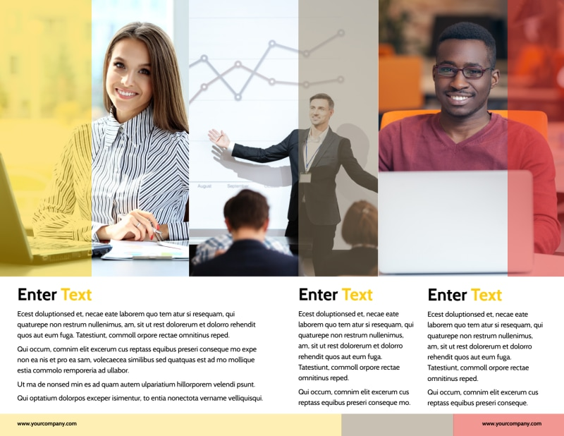 Executive Business Consulting Brochure Template Preview 3