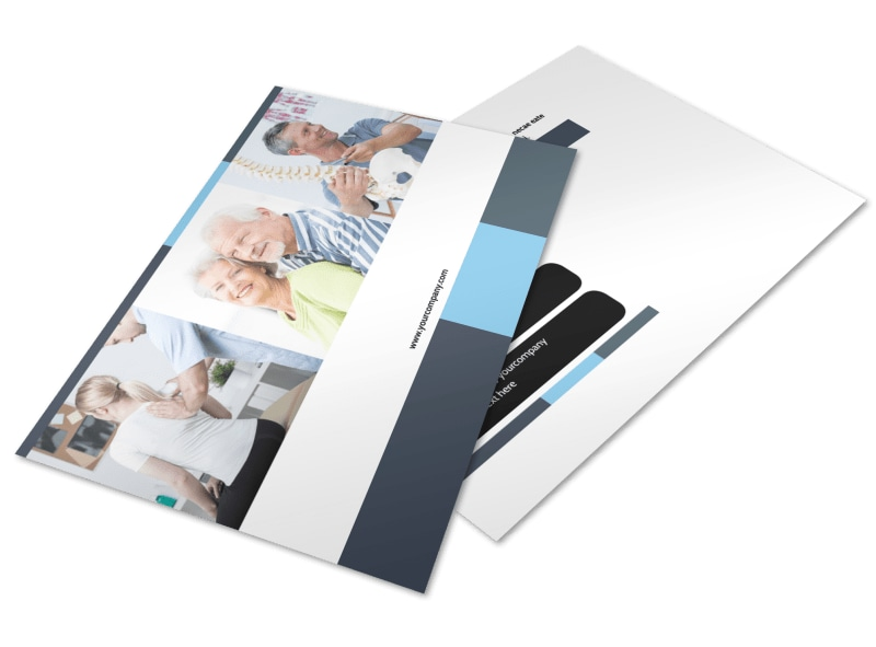 Chiropractor Clinic Postcard Template 2