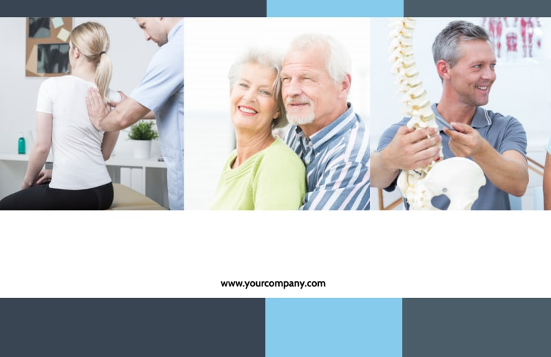 Chiropractor Clinic Postcard Template Preview 2