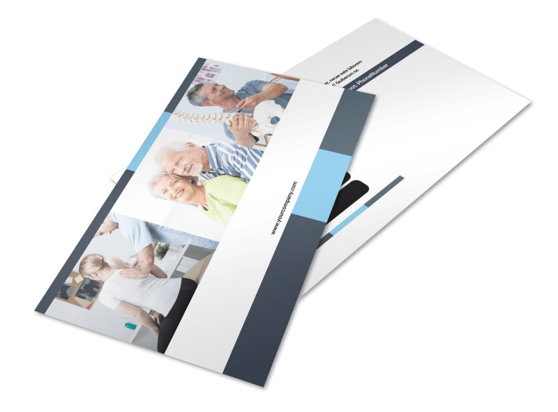 Chiropractor Clinic Postcard Template Preview 1