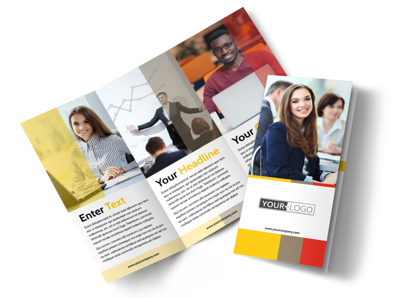 Executive Business Consulting Brochure Template Preview 1