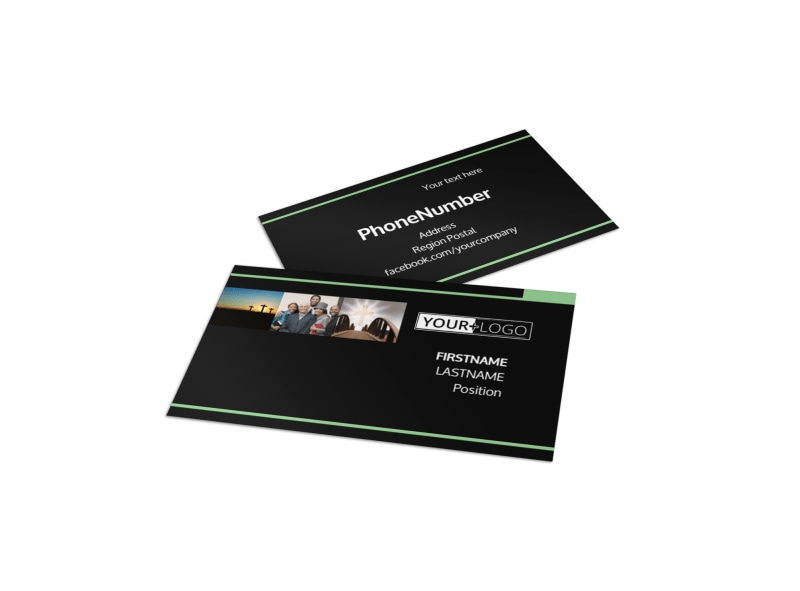 Christian Church Business Card Template  Christian Flyer Templates