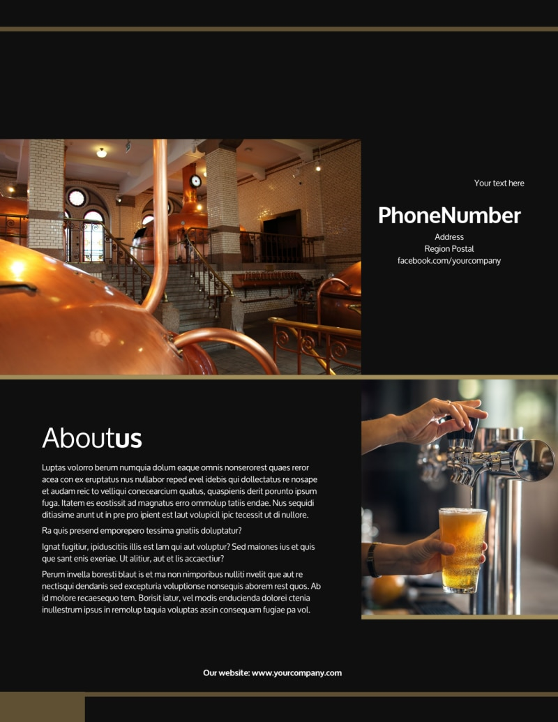Brewery Tour Flyer Template Preview 3