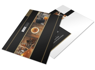 Brewery Tour Postcard Template 2