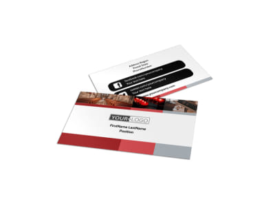 Catholic Church Business Card Template