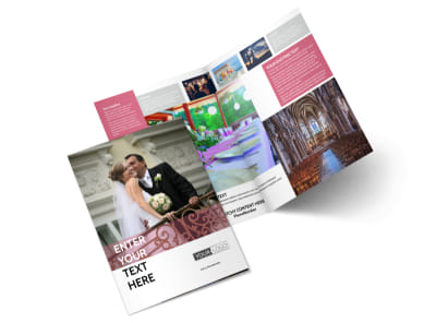 Wedding Venue Bi-Fold Brochure Template 2