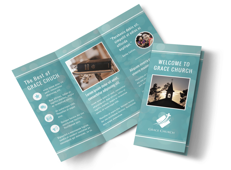 Christian Church Brochure Template Preview 1