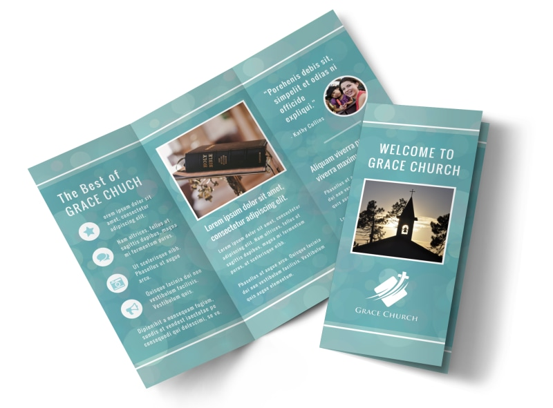 Christian Church Brochure Template MyCreativeShop - Church brochure templates