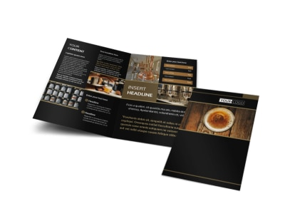 Brewery Tour Bi-Fold Brochure Template