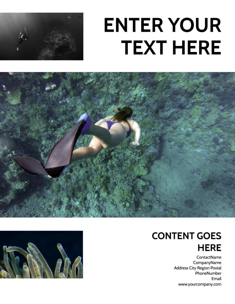 Scuba Diving Flyer Template Preview 3