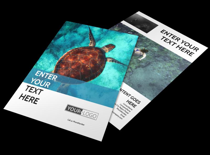Scuba Diving Flyer Template Preview 1