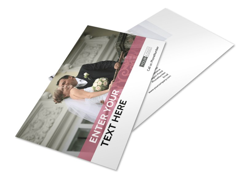 Wedding Venue Postcard Template 2