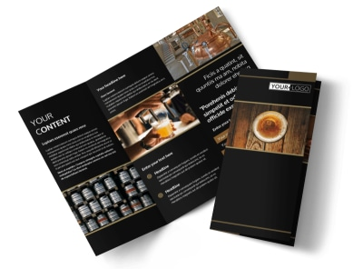 Brewery Tour Tri-Fold Brochure Template
