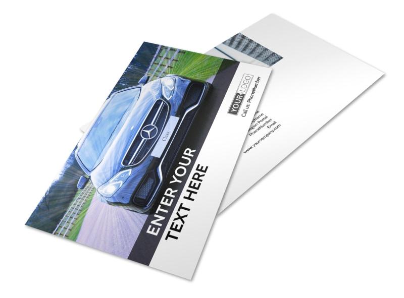 Luxury Auto Dealer Postcard Template 2