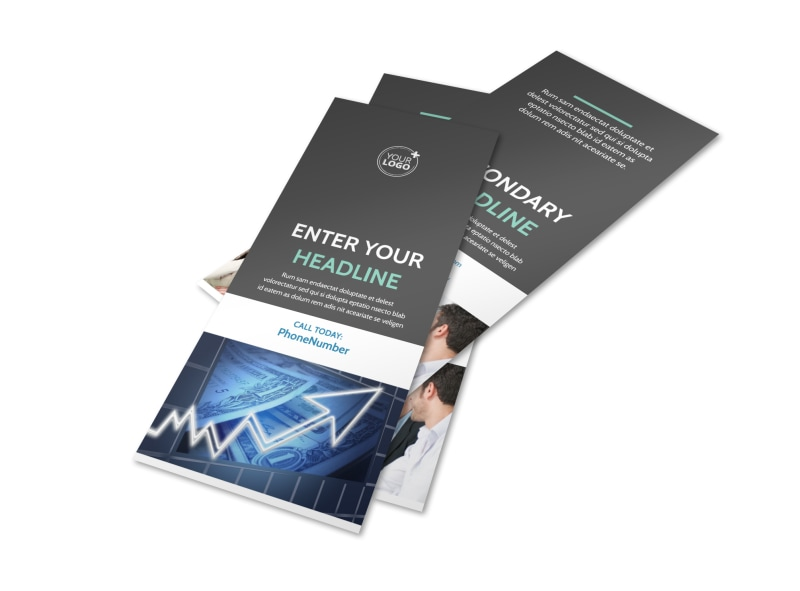 Financial Planner Flyer Template 2