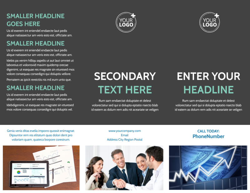 Financial Planning Service Brochure Template Preview 2