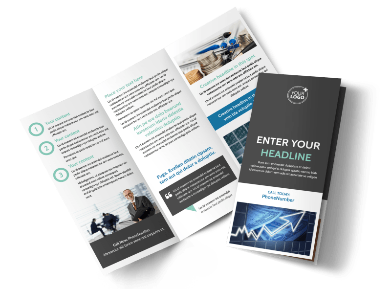 Financial Planning Service Brochure Template Preview 1