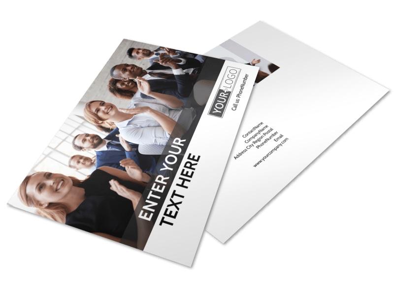 Business Development Conference Postcard Template 2