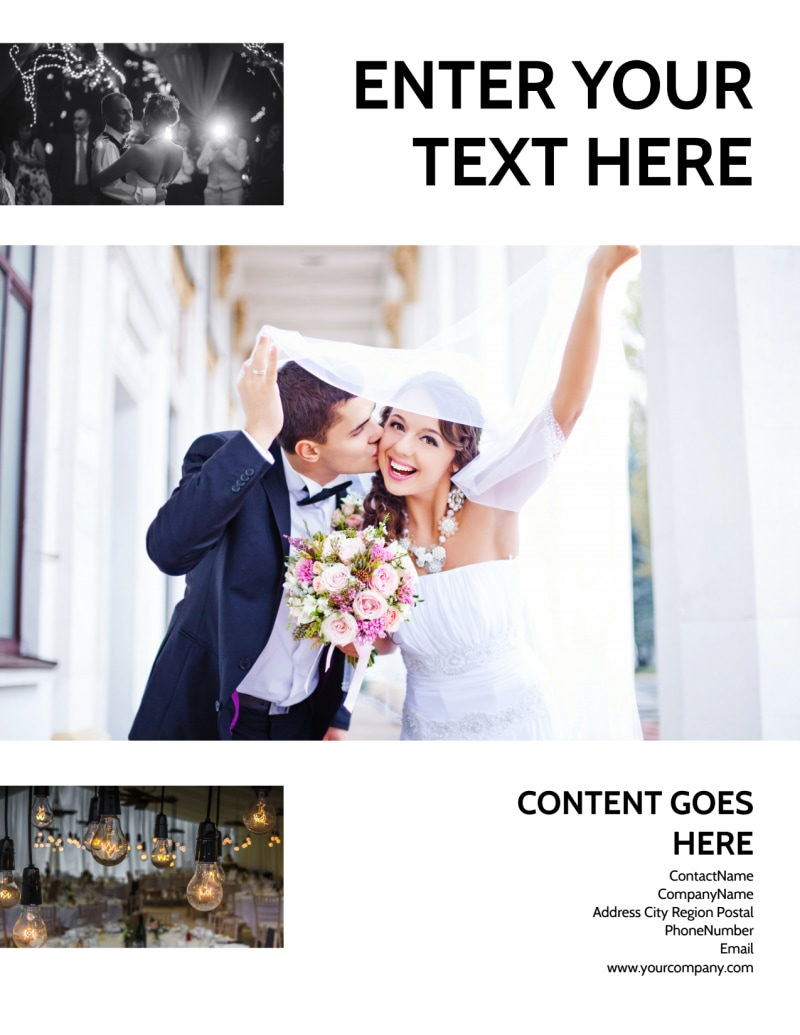 Wedding Venue Flyer Template Preview 3