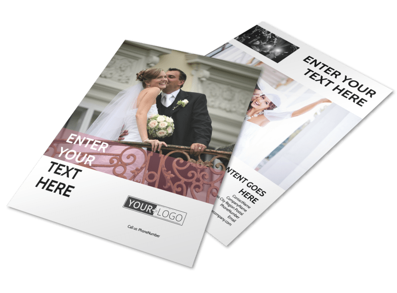 Wedding Venue Flyer Template Preview 1