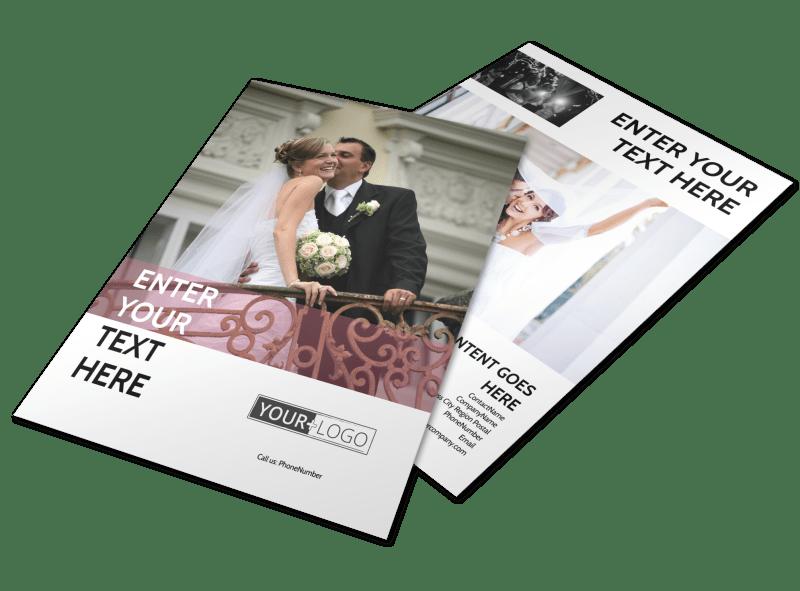 Wedding Venue Flyer Template Mycreativeshop
