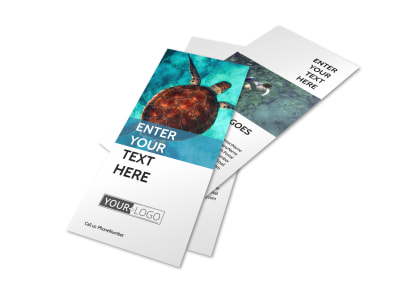 Scuba Diving Flyer Template 2