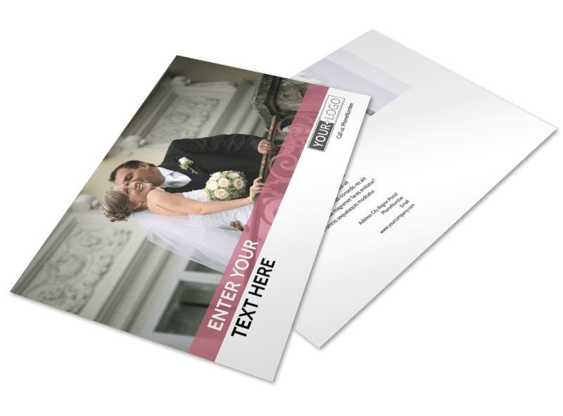 Wedding Venue Postcard Template Preview 4