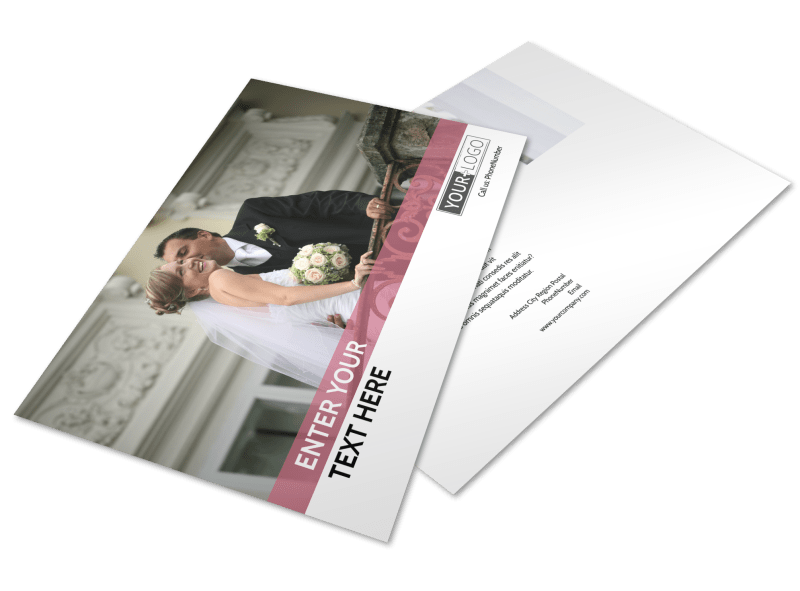 Wedding Venue Postcard Template Preview 1