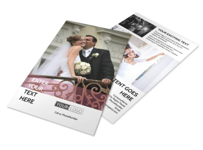 Wedding Venue Flyer Template 3