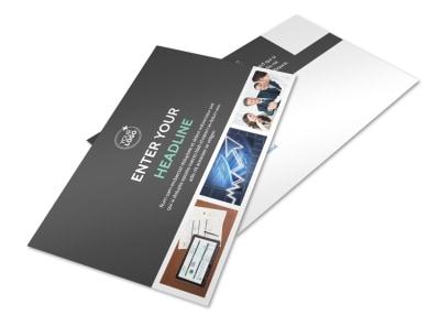 Financial Planner Postcard Template 2