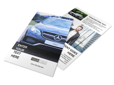 Luxury Auto Dealer Flyer Template 3