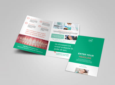 Dental Surgery Bi-Fold Brochure Template