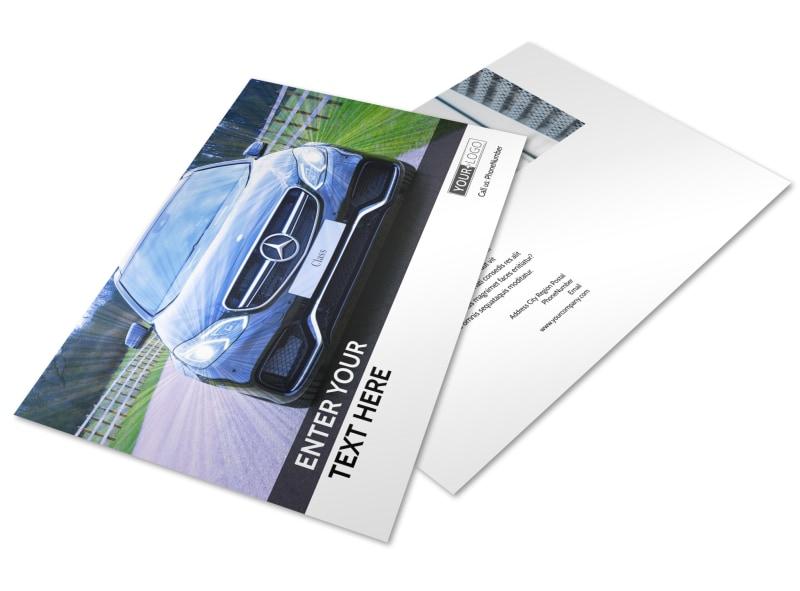 Luxury Auto Dealer Postcard Template