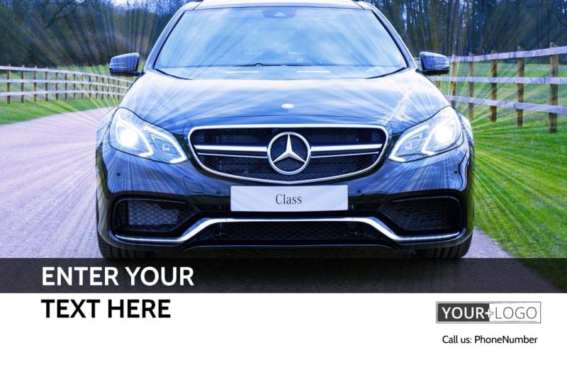 Luxury Auto Dealer Postcard Template Preview 2