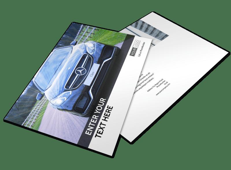 Luxury Auto Dealer Postcard Template Preview 1