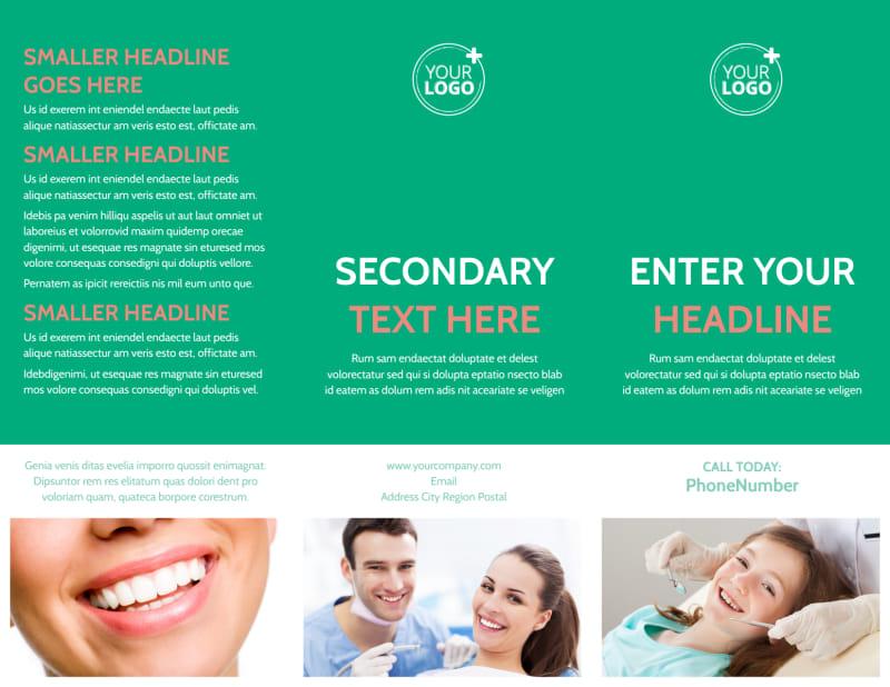 Dental Surgery Brochure Template Preview 2