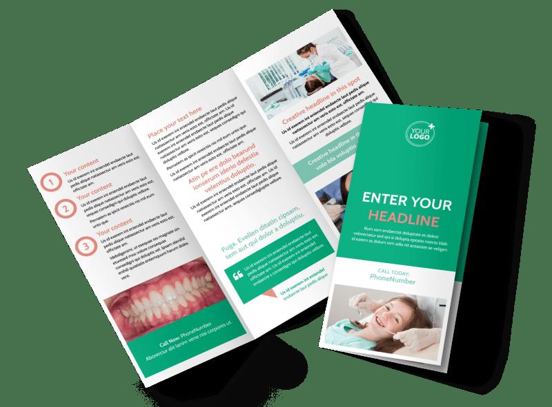 Dental Surgery Brochure Template Preview 1