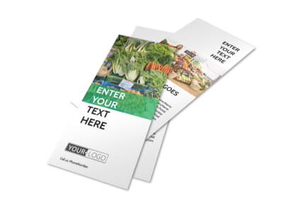 Local Produce Market Flyer Template 2