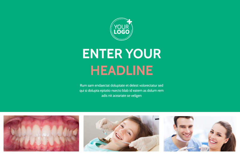 Dental Surgery Postcard Template Preview 2