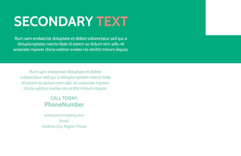 Dental Surgery Postcard Template Preview 3