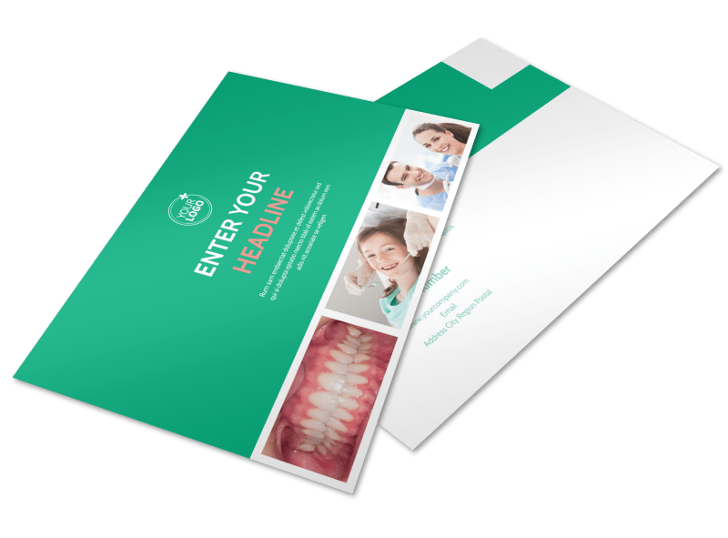Dental Surgery Postcard Template Preview 1