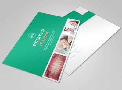 Dental Surgery Postcard Template preview