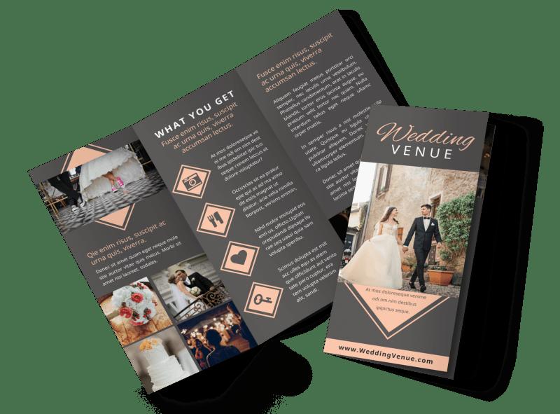 Wedding Venue Brochure Template Preview 1