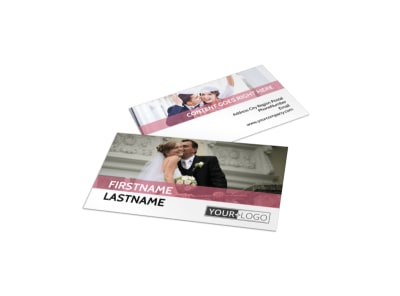 Wedding Venue Business Card Template