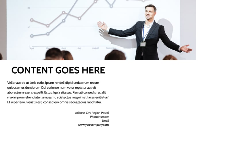 Business Development Conference Postcard Template Preview 3