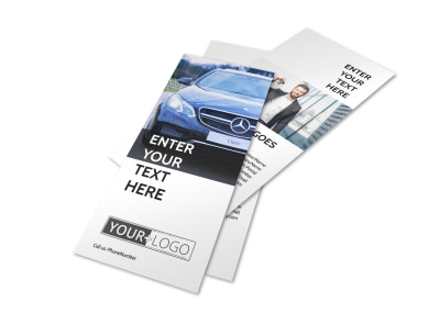 Luxury Auto Dealer Flyer Template 2